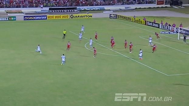 Série B: Gol de CRB 0 x 1 Paysandu