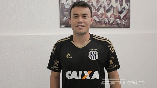 Apresentado, Renato Cajá manda recado para a torcida em retorno à Ponte