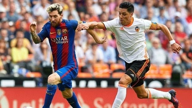 Espanhol: Gols de Valencia 2 x 3 Barcelona