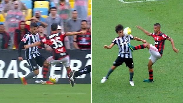 'Brasileirão ESPN' destaca show de dribles no clássico entre Flamengo x Botafogo