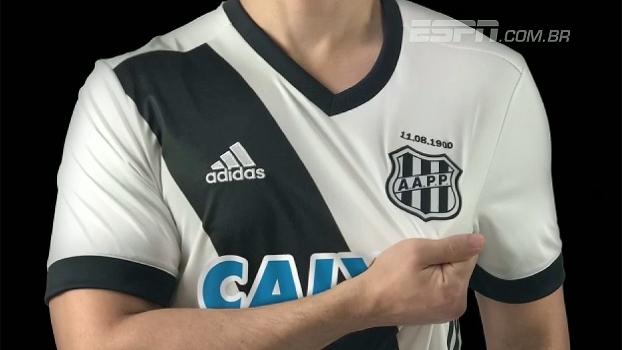 Em homenagem às décadas de 1930 e 1940, Ponte Preta lança nova camisa 'Majestosa'