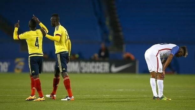 Veja os gols da vitória da Colômbia sobre os Estados Unidos por 2 a 1