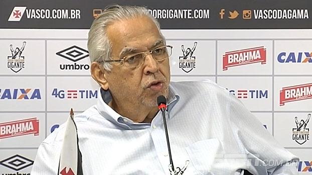 Eurico critica torcedores após confusão em São Januário: 'É melhor nem vir'