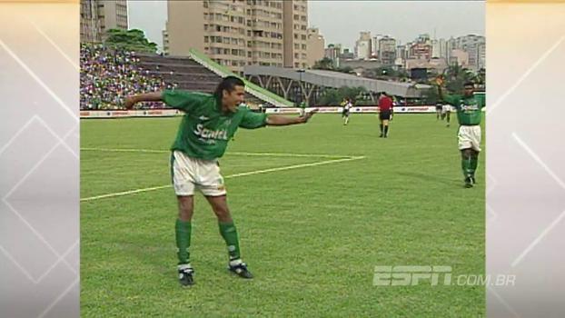 No Palestra Itália, Palmeiras bateu a Ponte com gols de Alex e Oséas em 1998; relembre