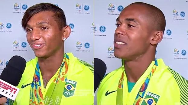 Isaquias comemora: 'Agora tenho medalhas de todo campeonato no meu currículo'; Erlon quer curtir as férias