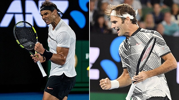 Rivalidade antiga! Relembre decisões históricas entre Rafael Nadal e Roger Federer