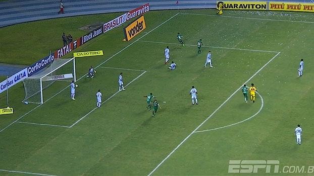 Confira o gol da vitória do Paysandu sobre o Goiás por 1 a 0