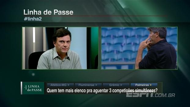 Mauro, sobre o Grêmio:  'O material humano que o Renato Gaúcho tem é bem interessante'