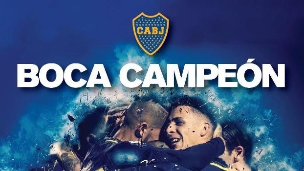 Boca Juniors divulga clipe oficial de título argentino 2016/17