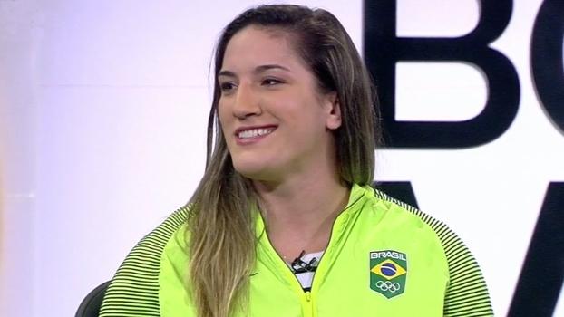 Bronze, Mayra Aguiar conta como foi disputar medalha minutos após perder semifinal: 'Dói demais'