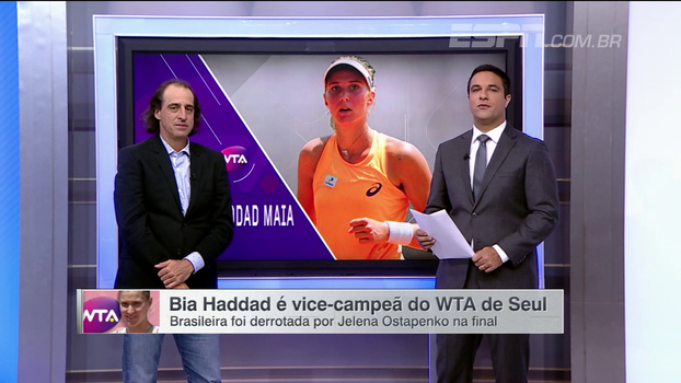 Fernando Meligeni analisa vice de Bia Haddad Maia em Seul e vê brasileira 'mais respeitada' no circuito