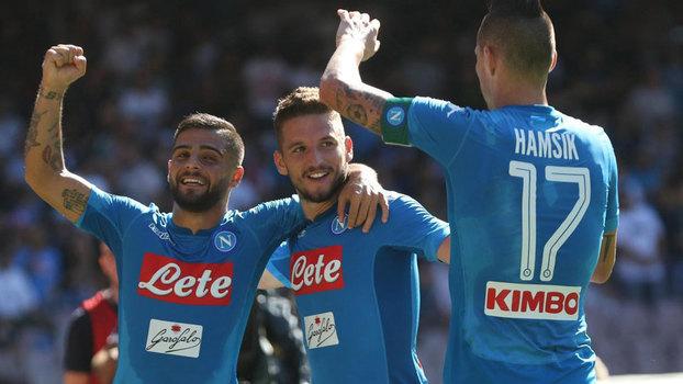 Veja os gols da vitória do Napoli sobre o Benevento por 6 a 0 pelo Italiano
