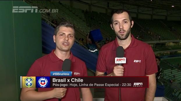 Hofman lamenta preços de jogos e Ortega opina: 'Brasileiro é o que menos torce pela sua seleção'