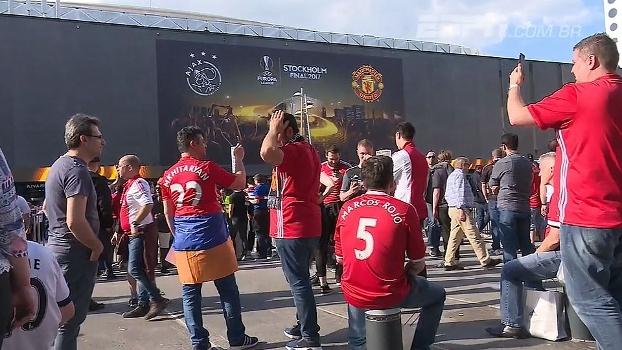 Torcedores começam a chegar para a final da Europa League