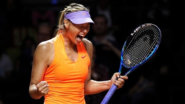 Sharapova celebra retorno ao tênis com vitória: 'Foi como se eu não tivesse ficado parada'
