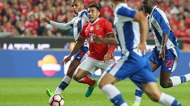 Português: Gols de Benfica 1 x 1 Porto