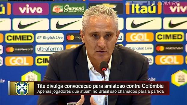 Tite relembra homenagem do Atlético Nacional após acidente: 'Arrepiou'