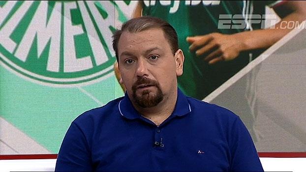 Alê Oliveira vê Palmeiras 'entrando' no Brasileiro e elogia evolução de Guerra: 'Dono do time'