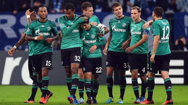 Champions League: Gols de Schalke 04 3 x 0 Steaua Bucareste