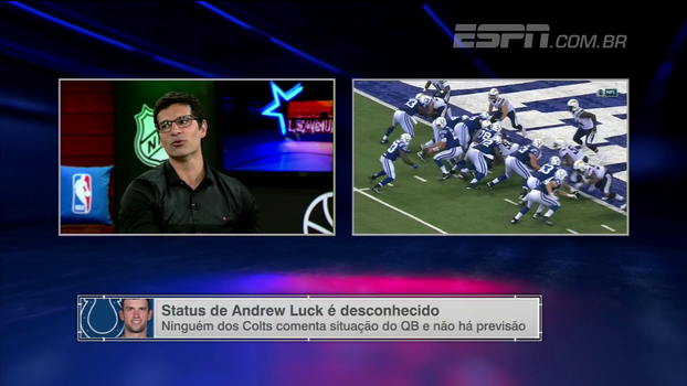 Paulo Antunes questiona retorno de Andrew Luck após cirurgia e alerta sobre dependência do quarterback nos Colts