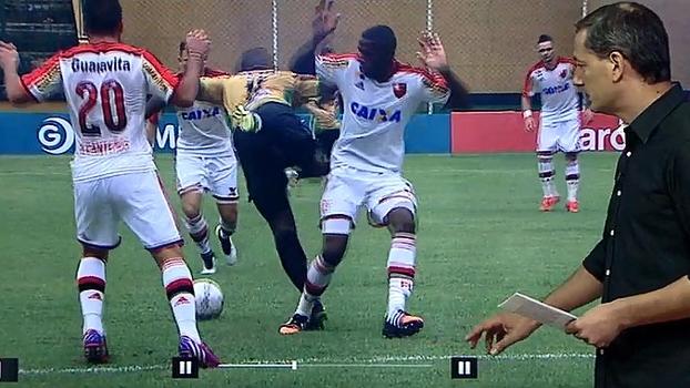 Salvio: juiz acertou ao não marcar pênalti contra Fla e gol do Tigres-RJ começou com mão na bola