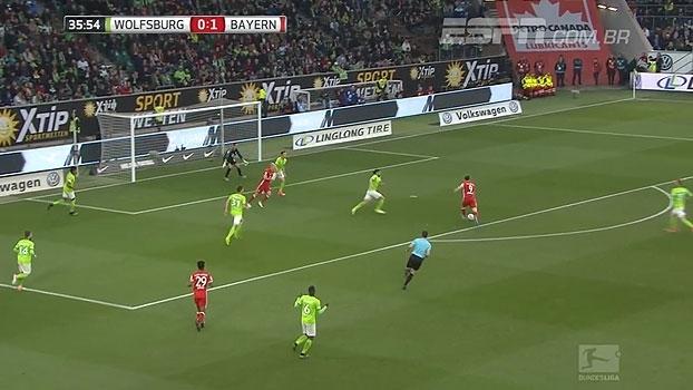 Tempo real: GOL do Bayern! Muller faz ótimo passe e encontra Lewandowski, que bate colocado para fazer