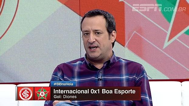 Gian: 'É preocupante o futebol que o Inter vem jogando até aqui'