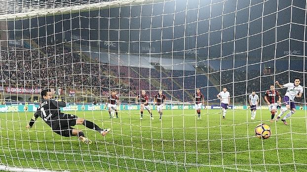 Assista ao gol da vitória da Fiorentina sobre o Bologna por 1 a 0