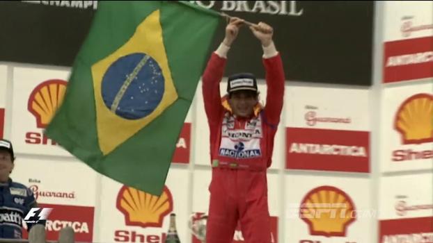 Senna endeusado, despedida de Schumacher e muito mais; relembre os melhores momentos da historia do GP do Brasil