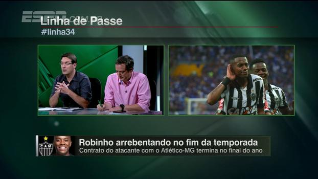 Arnaldo apostaria em Robinho: 'Tecnicamente, é o melhor jogador no Brasil. Com alguma sobra'