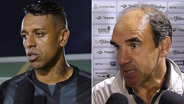 Sidão e Ricardo Gomes destacam 'pequena vantagem' para o Botafogo