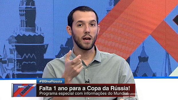 Gustavo Hofman fala sobre 'truques' para compreender nomes de jogadores e times russos