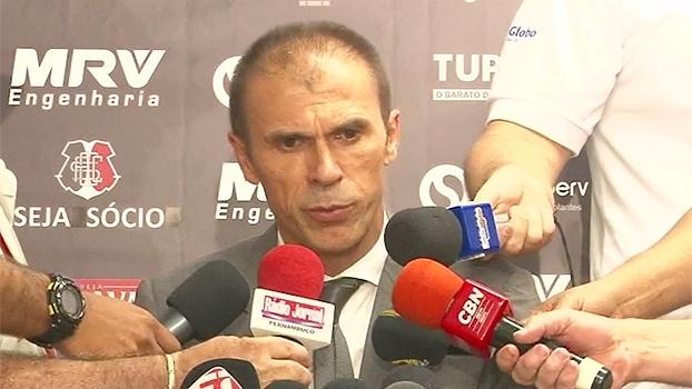 Técnico do Santa Cruz comemora vitória, mas elogia Cruzeiro: 'Resultado não diz realmente o que foi o jogo'