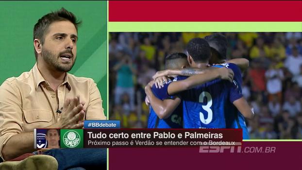 Nicola revela segunda reunião de Pablo com o Palmeiras; veja os detalhes da proposta