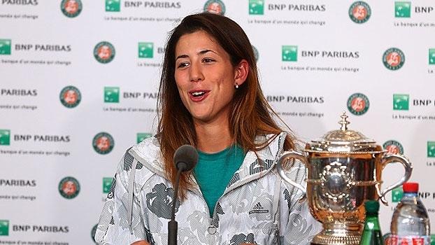 Muguruza fala sobre emoção em ponto decisivo: 'Eu ganhei Roland Garros?'