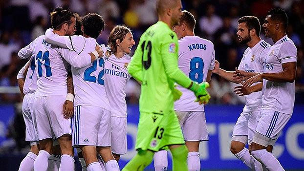 LaLiga: Melhores momentos de Deportivo La Coruña 0 x 3 Real Madrid