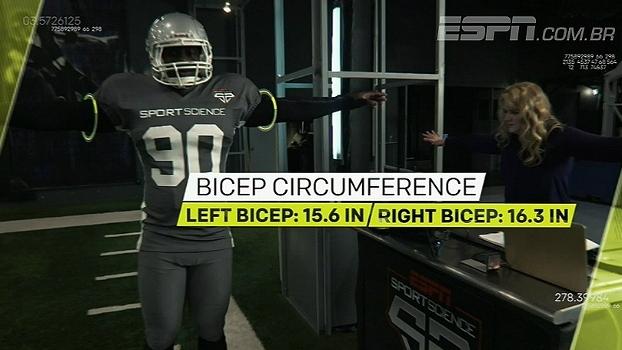 Sport Science: a incrível força de Carl Lawson para dar tackles e derrubar quarterbacks