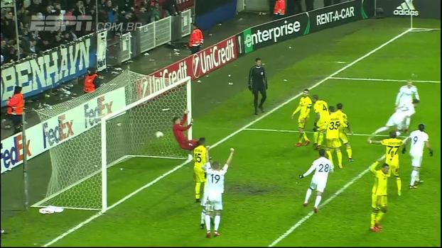 Grande surpresa no início, Sheriff cai para o Copenhague com gols idênticos e é eliminado da Europa League