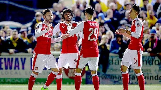 Copa da Inglaterra: Melhores momentos de Sutton United 0 x 2 Arsenal