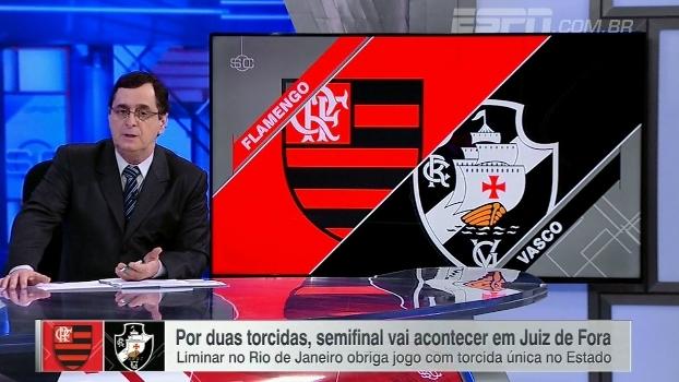 Antero critica Flamengo x Vasco em Juiz de Fora: 'Sinal de abandono do futebol'