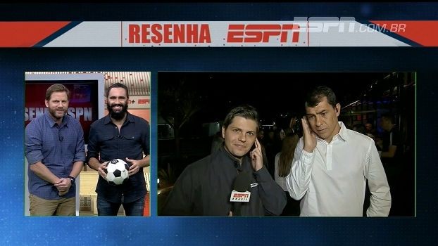 No 'Resenha ESPN', Carille diz qual foi o seu maior acerto no Corinthians