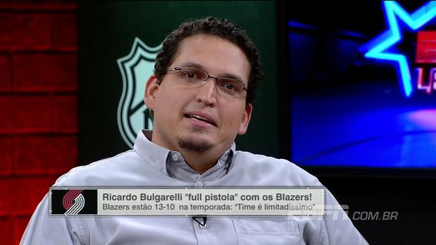Veja Ricardo Bulgarelli full pistola com o Portland Trail Blazers: 'O time é muito previsível'