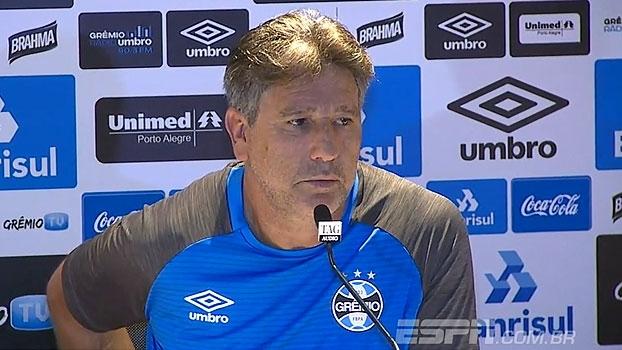 Renato Gaúcho garante Grêmio 'pronto' para o clássico: 'Time está bem treinado'