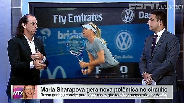 Meligeni não vê problema em Sharapova ter sido convidada para o Premier de Stuttgart