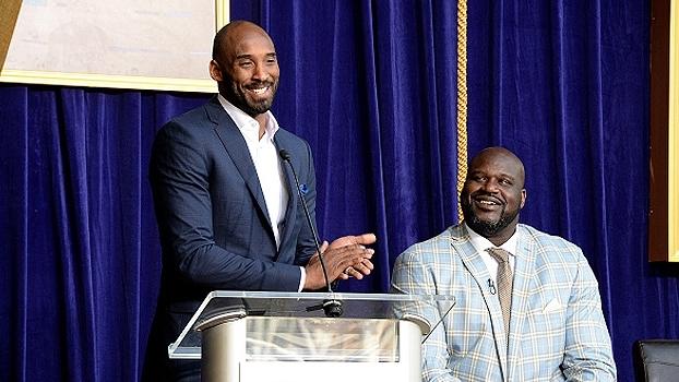 Kobe revela episódio inusitado com Shaq nos tempos de Lakers e elogia o ex-companheiro