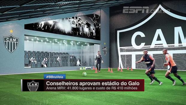 Casa nova? Saiba tudo do novo estádio do Atlético-MG: 'Será que precisa?', questiona Maurício Barros