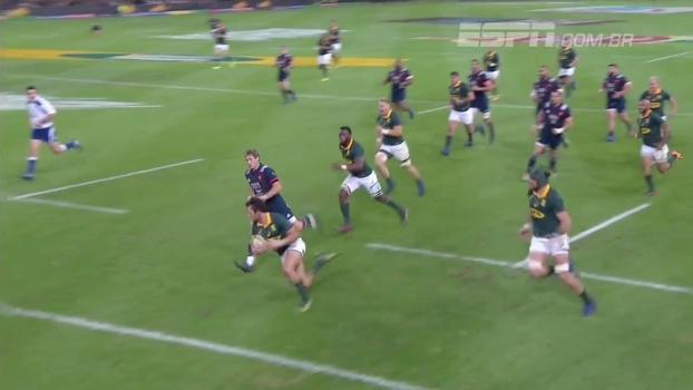 Em amistoso internacional de rugby, África do Sul vence França por 37 a 15
