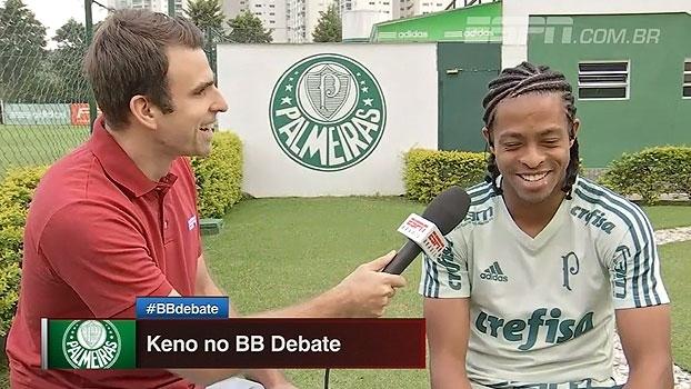 Kenaldinho? Harry Keno? Atacante explica apelidos no Palmeiras e rasga elogios a Guerra