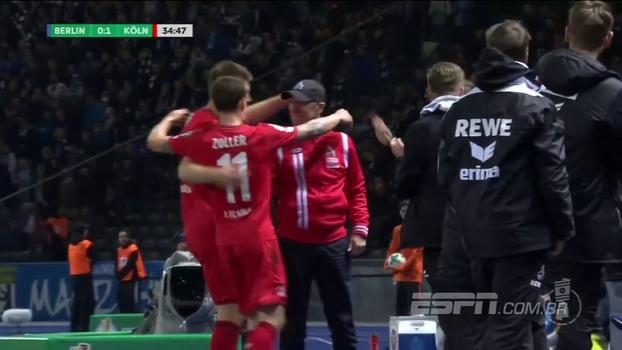 Lanterna na Bundesliga, Colônia vence Hertha em Berlin e avança na Copa da Alemanha