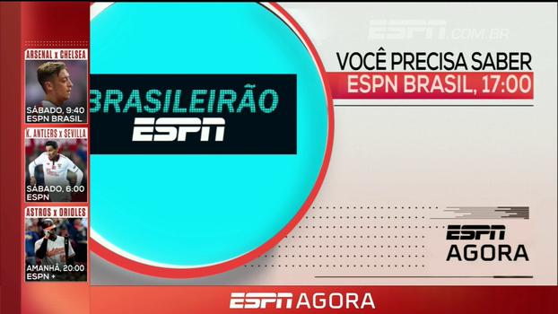 Brasileirão ESPN e Poker; veja a programação desta quinta-feira na ESPN